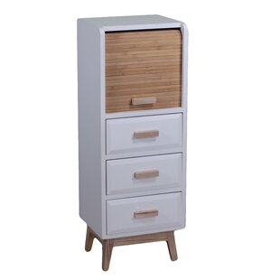 Stokes 3 Drawers Combi Chest By August Grove