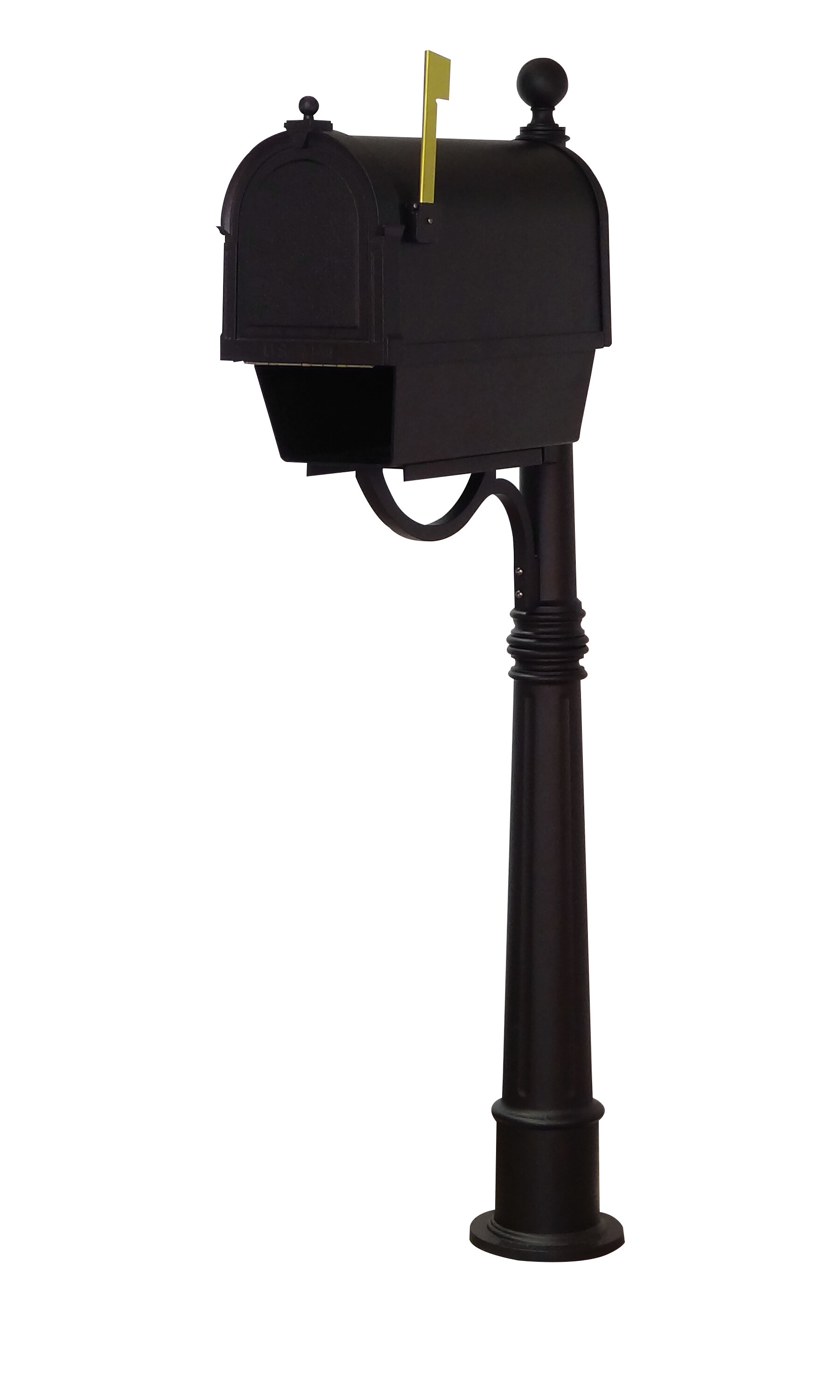 Special Lite Products Berkshire Post Mounted Mailbox Wayfair