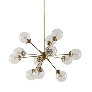 Modern contemporary glass bubble chandelier allmodern save aloadofball Images