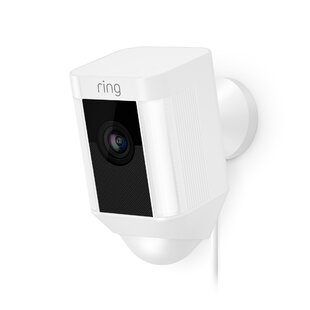 Video Enabled Outdoor Security Spot Light with Motion Sensor by Ring