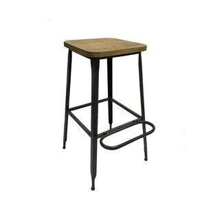 Plank 28.5 Bar Stool (Set of 2) Williston Forge