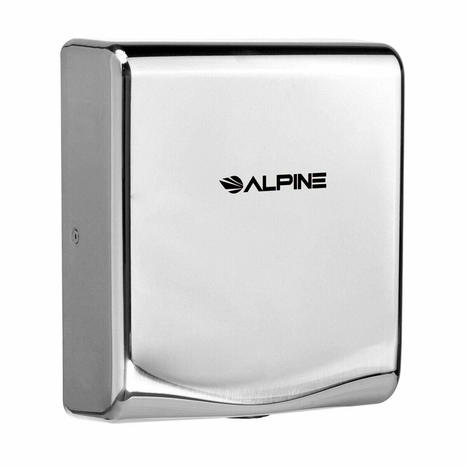 Alpine Industries High Speed Automatic 120 Volt Hand Dryer In Chrome Wayfair
