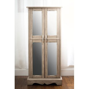Hives and Honey Chelsea Jewelry Armoire with Mirror