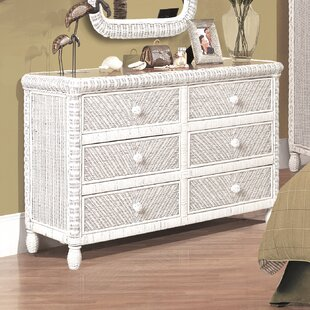 Alicia 6 Drawer Dresser