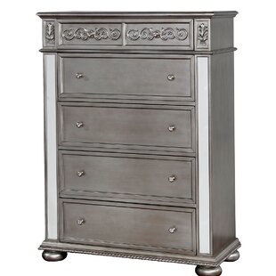 Compare Amani Traditional 6 Drawer Chest by Rosdorf Park