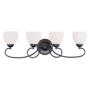 Inexpensive Whittaker 4-Light Vanity Light By Alcott Hill