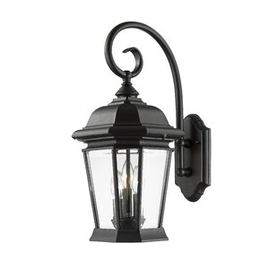 Bibb 3-Light Outdoor Wall Lantern
