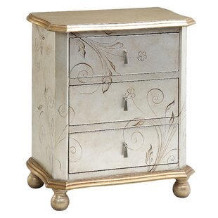 Darby Home Co Roxie 3 Drawer Chest