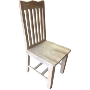 Maliyah Slat Solid Wood Side Chair (Set of 2) by Longshore Tides