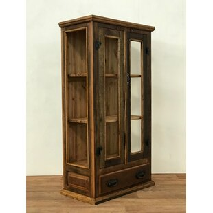 Bungalow Rose Dreher Display China Cabinet