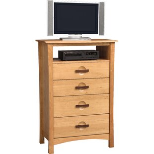 Berkeley 4 Drawer Media Chest