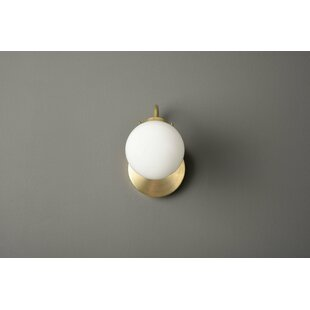 Migdalia 1-Light Armed Sconce ..