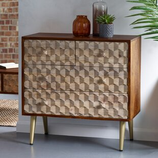 Rosemont 4 Drawer Chest By World Menagerie