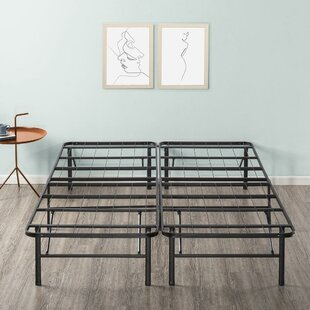 Roeder Mattress Foundation Bed Frame with Slats