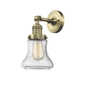 Beachcrest Home Nardone 1-Light Bath Sconce