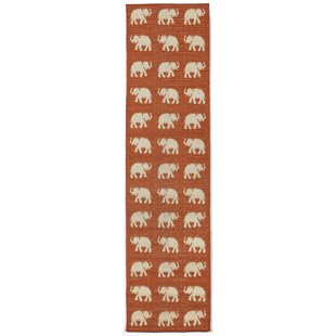 Slimane Elephants Indoor/Outdoor Rug