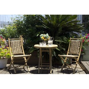 Enprise 3 Piece Indoor/Outdoor Bistro Set