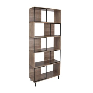 Elivra Standard Bookcase by Union Rustic