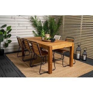 Priyansh 6 Seater Dining Set By Sol 72 Outdoor