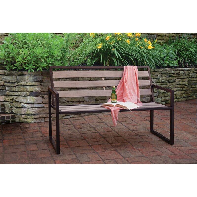 Foundry Select Smeltzer Metal Garden Bench Wayfair
