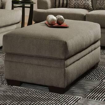 Red Barrel Studio Hurst 47 Rectangle Geometric With Storage Ottoman Wayfair