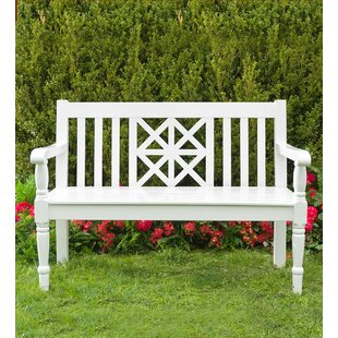 Legacy Diamond Wooden Garden Bench