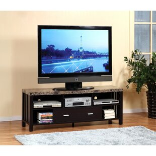 Wagaman Deluxe Faux Marble Top 60 inch  TV Stand