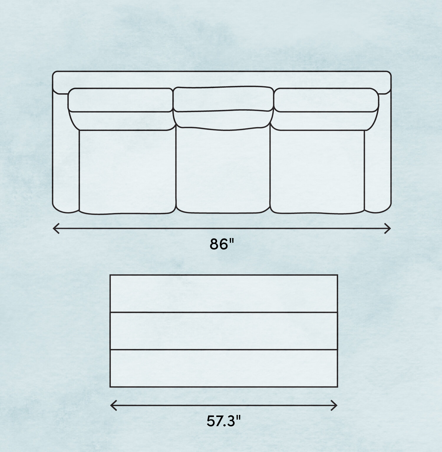 Coffee Table Size How To Choose The Right Coffee Table Dimensions Wayfair