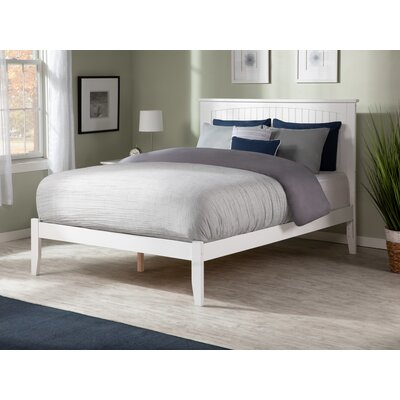 Graham Platform Bed Color: Caramel Latte, Size: Queen by Beachcrest Home