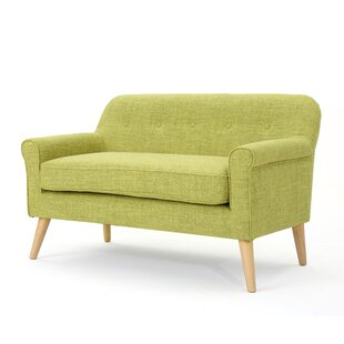 Anchill Mid Century Modern Loveseat by Turn on the Brights