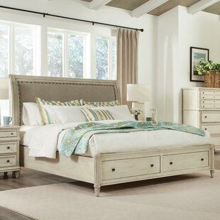 Waverley Upholstered Storage Sleigh Bed