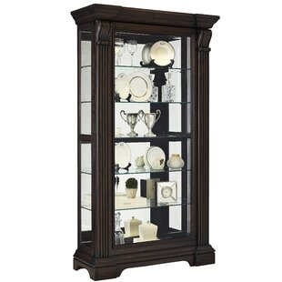 Darby Home Co Glencoe Lighted Curio Cabinet
