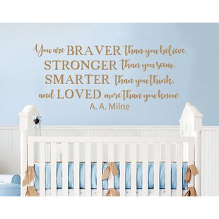 Winnie The Pooh Quote Mural Wall Decal