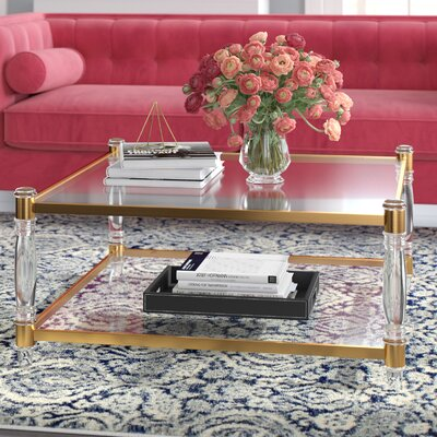 Acrylic Coffee Tables You Ll Love Wayfair