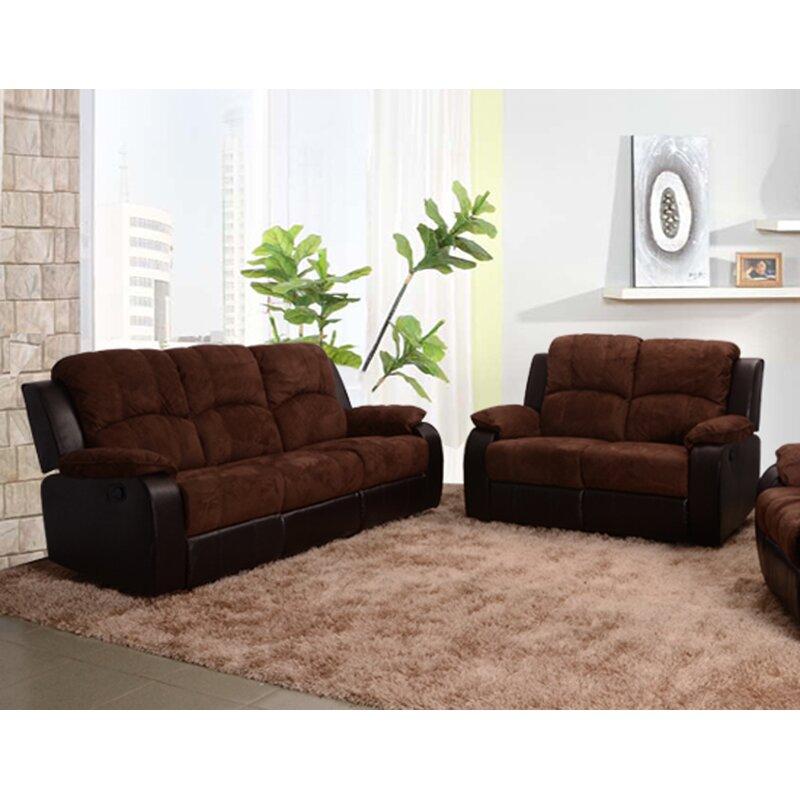 Beverly Fine Furniture Pamela Reclining 2 Piece Living Room Set Wayfair