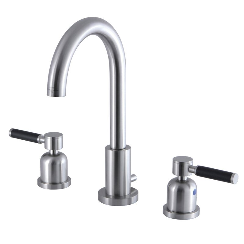 Kingston Brass Kaiser Widespread Bathroom Faucet With Drain Assembly Wayfair