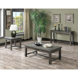 Dumfries 3 Piece Coffee Table Set