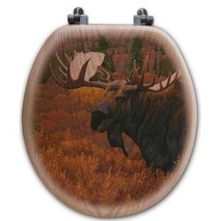 WGI-GALLERY Denali Autumn Moose Toilet Seat