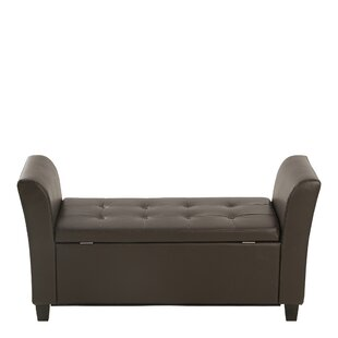 Ashley Upholstered Storage Bench By Three Posts