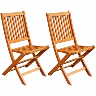 Cadsden Patio Folding Chair (Set of 2)  sc 1 st  Wayfair & Folding Chairs Youu0027ll Love | Wayfair