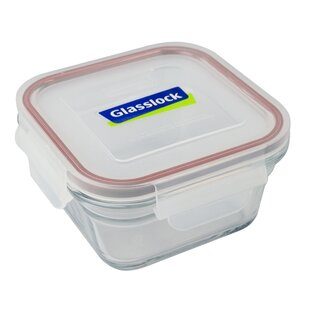 0 4l Oven Square Gl Food Container Set Of 2