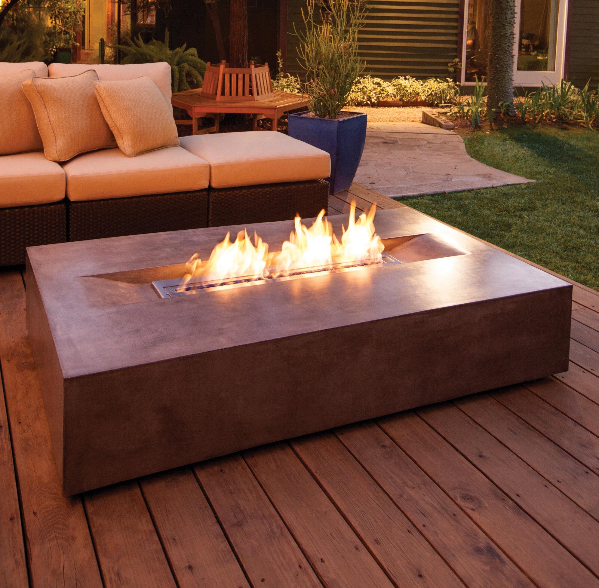 san francisco 49967 48c23 BJFS Flo Concrete Gas Fire Pit Table   Wayfair