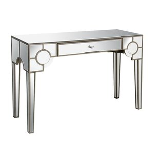 Babb Mirrored Console Table by House of Hampton