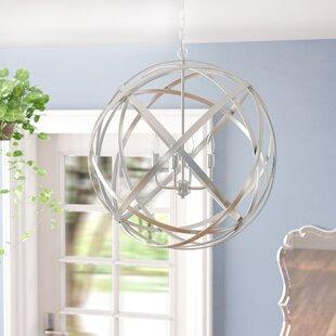 Kierra 4-Light Globe Pendant by Laurel Foundry Modern Farmhouse