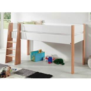Vangilder European Single Mid Sleeper Bed With Curtain By Zoomie Kids