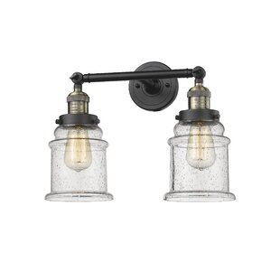 Deals Greeley 2-Light Vanity Light By Laurel Foundry Modern Farmhouse