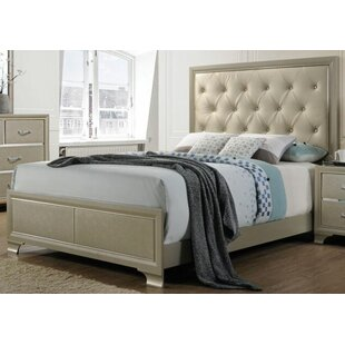 Porter Upholstered Panel Bed