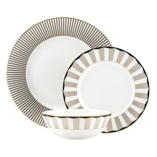 Audrey 3 Piece Place Setting, Service for 1