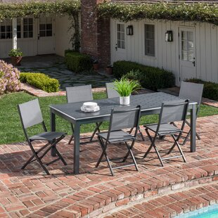 Latitude Run Baysidevillage 7 Piece Dining Set
