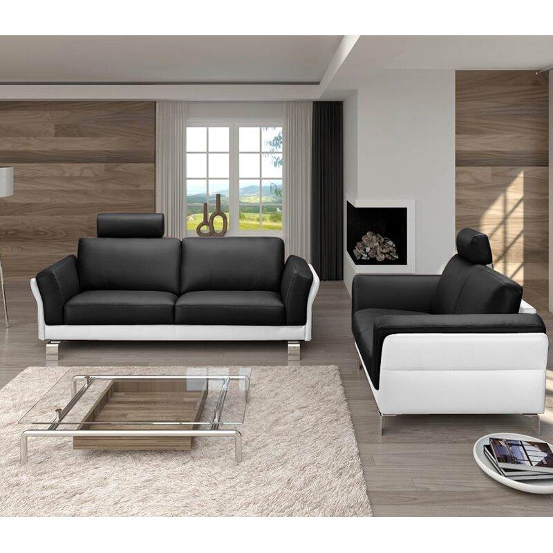 Sam Stil Art Möbel Gmbh 2 Tlg Couchgarnitur Nova Wayfairde